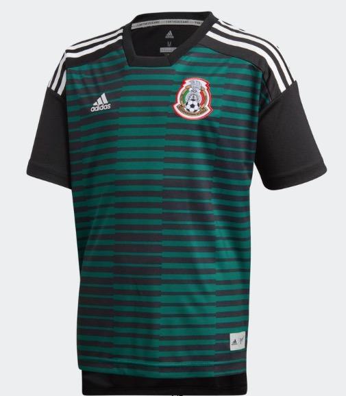 Playera Selección México Prepartido Parley Niño Original -   849.00 ... c0a74b679aa8c