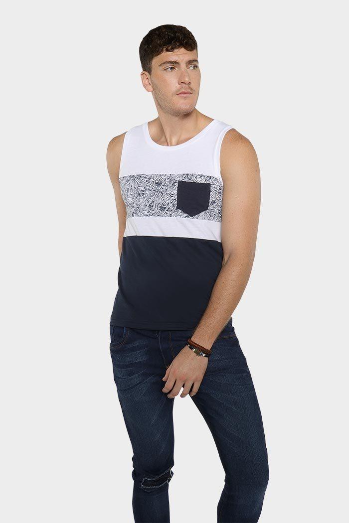 Hombre Tank Rocke Sin Gym Mangas Camiseta Playa Top Playera sQrdtCh