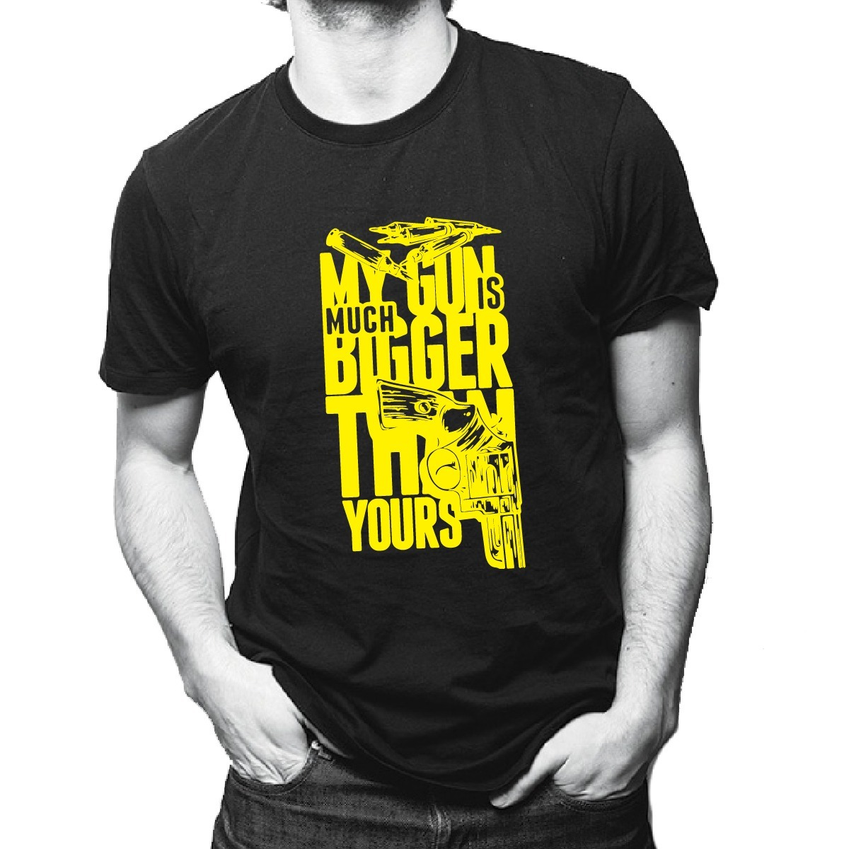 playera skate - my gun is bigger than yours - ropa urbana. Cargando zoom. ce8853065e7