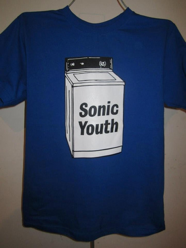 playera sonic youth ...wash machine