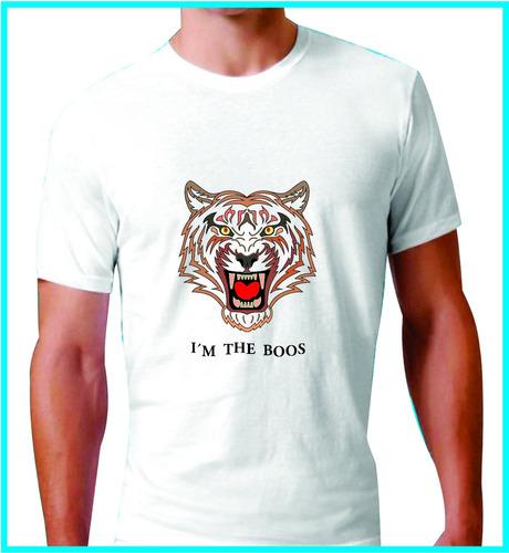 playera soy el jefe - i´m the boos