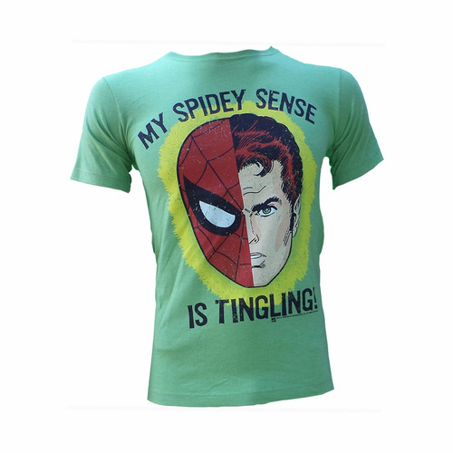 playera spidey sense (spiderman)