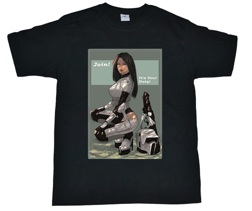 playera star wars (stoormtropers girls sexys) para hombre