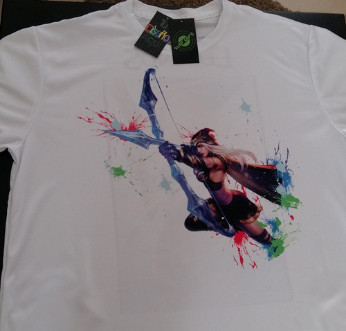 playera sublimada league of legends miss fortune y ashe