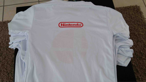 playera sublimada super smash bros super mario bros