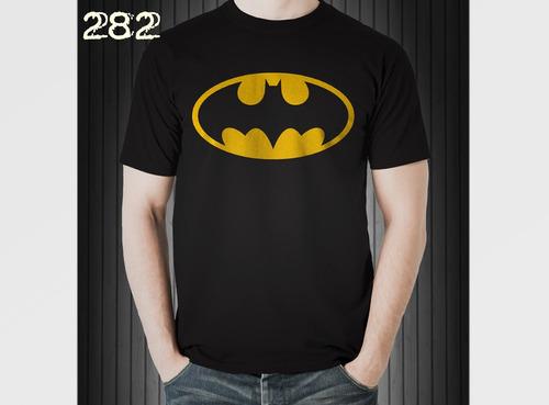 playera superheroes batman superman spiderman