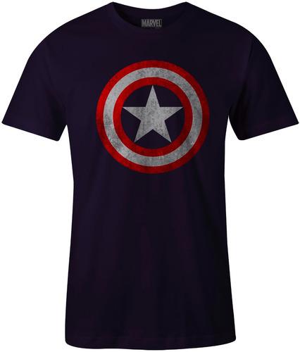 playera superheroes capitan america civil war ironman