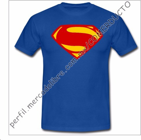 playera superman justice league playera liga de la jus afji