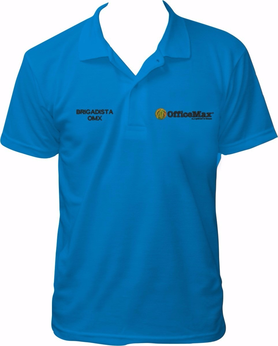 Playera T. Polo Bordada Con El Logo De Tu Empresa 91743ae630cd3