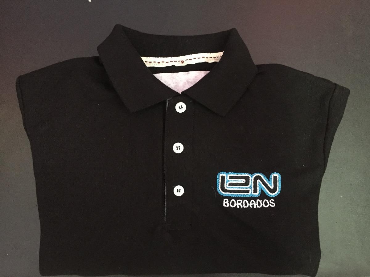 59f32c33a8016 Playera T. Polo Bordada Con El Logo De Tu Empresa
