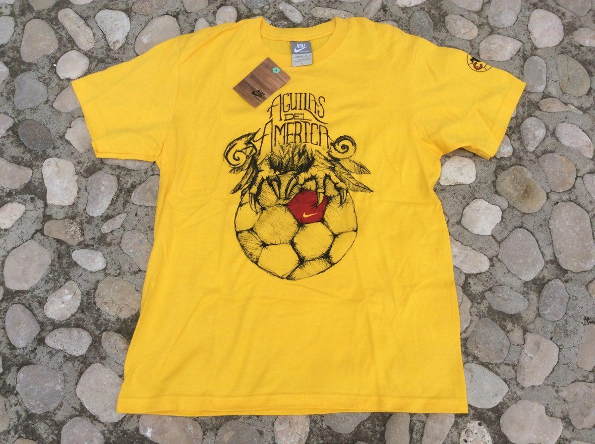 841d0cd91 playera t shirt club américa águilas infantil niño 2012 nike. Cargando zoom.