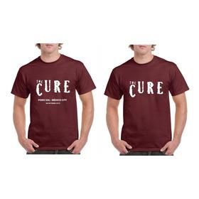 Playera The Cure Robert Smith México 2019