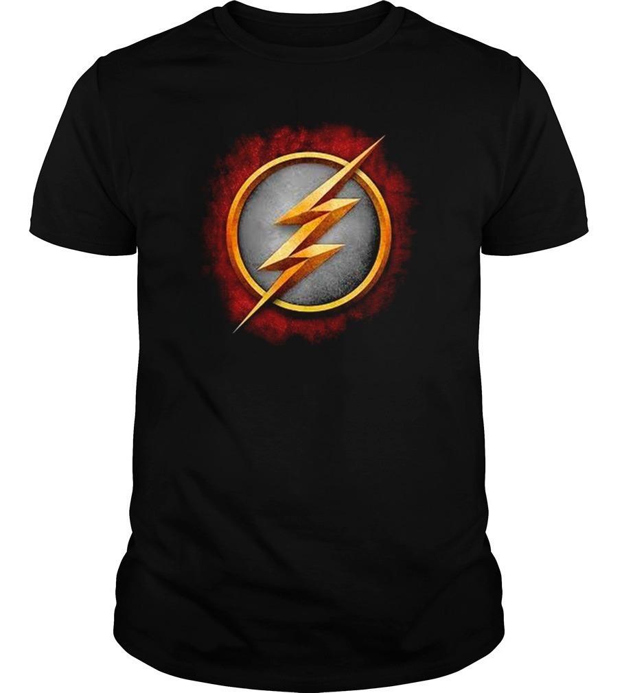 675052f543e Playera The Flash Dc Comics Barry Allen Logos - $ 199.00 en Mercado ...