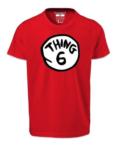 playera thing 1 2 3 4