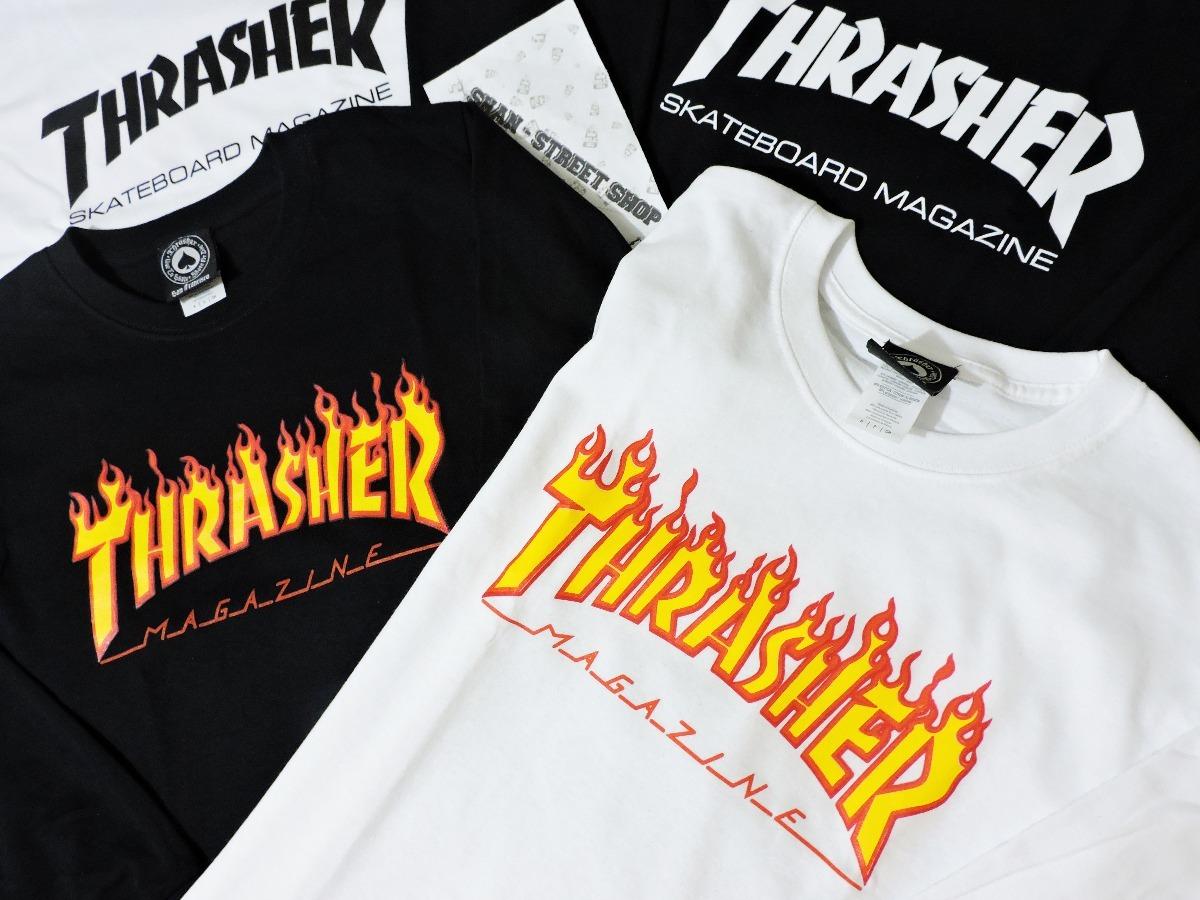Playera thrasher skate manga larga original envio gratis jpg 1200x900 Thrasher  skateboard ad3398008c6