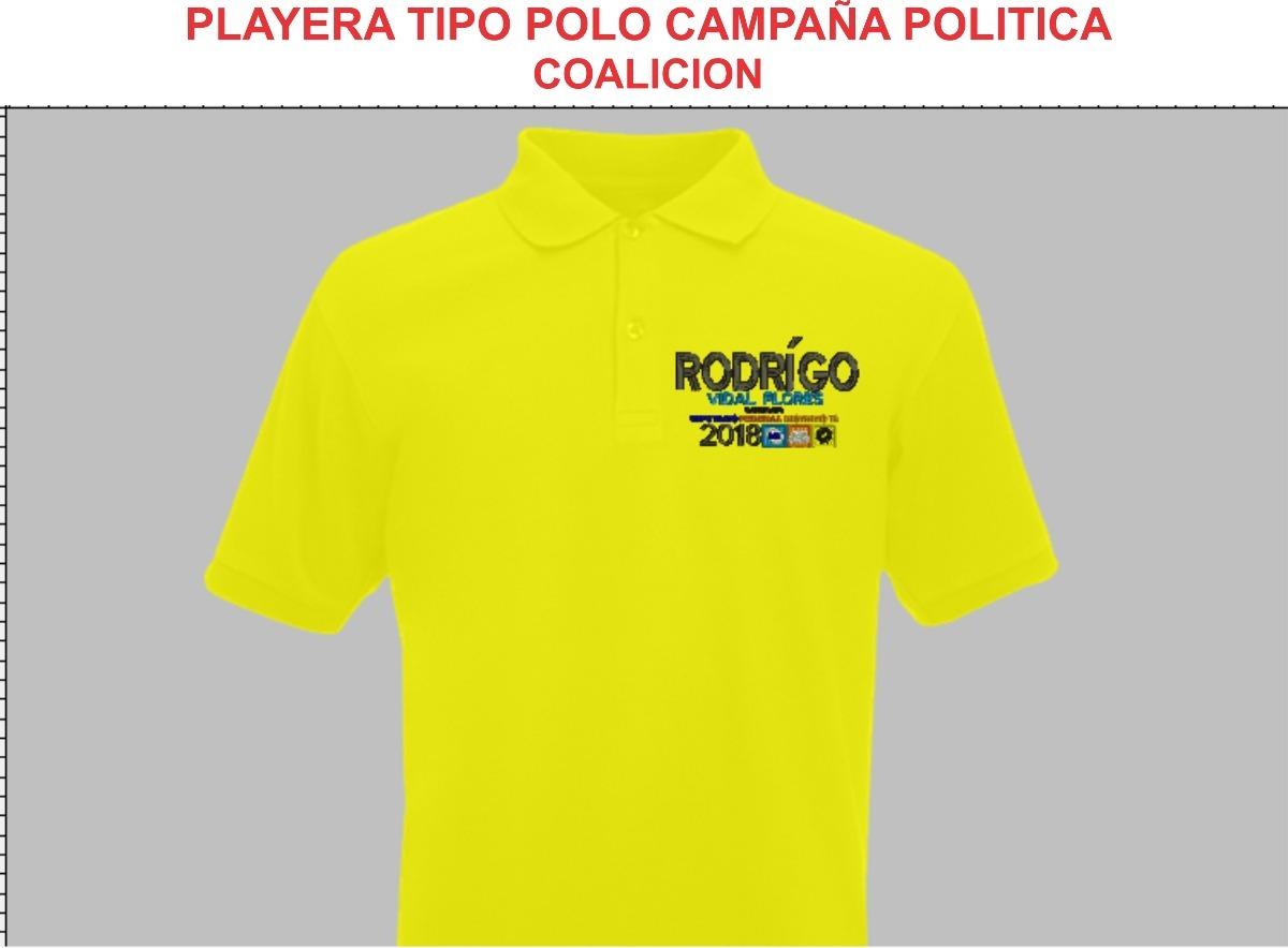 playera tipo polo campañas politicas coaliciones 2018 12 pz. Cargando zoom. 3a5b2c27c9bad