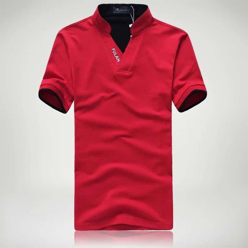 Playera Tipo Polo Cuello Mao Para Hombre Moda Asia -   250.00 en ... 48dbb2bb29194