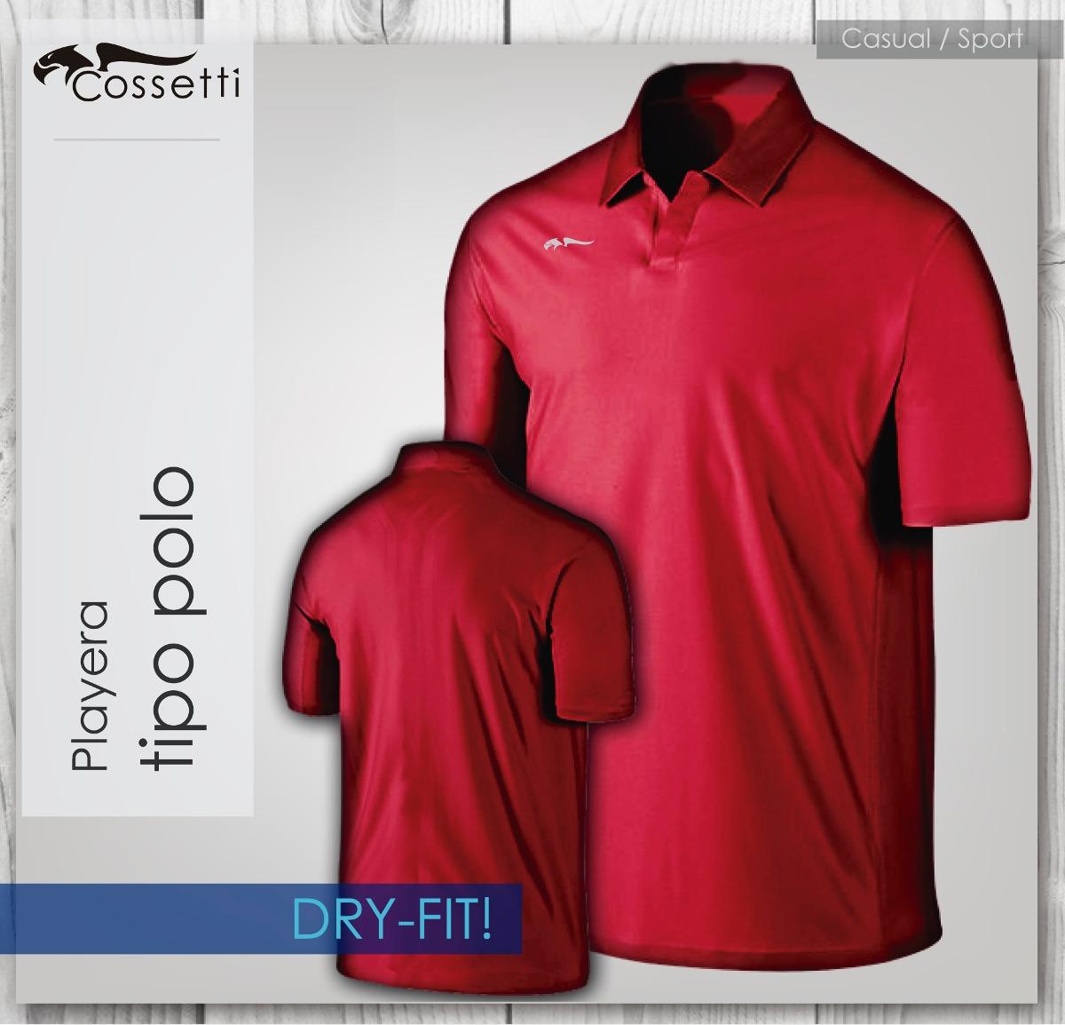 Playera Tipo Polo Dry-fit! De Alta Calidad Nueva Confección ... 1c64ec5e87ff1