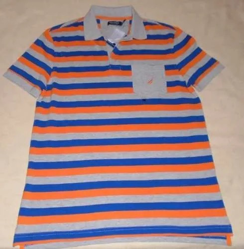 playera tipo polo nautica mediana m 100% original ticket