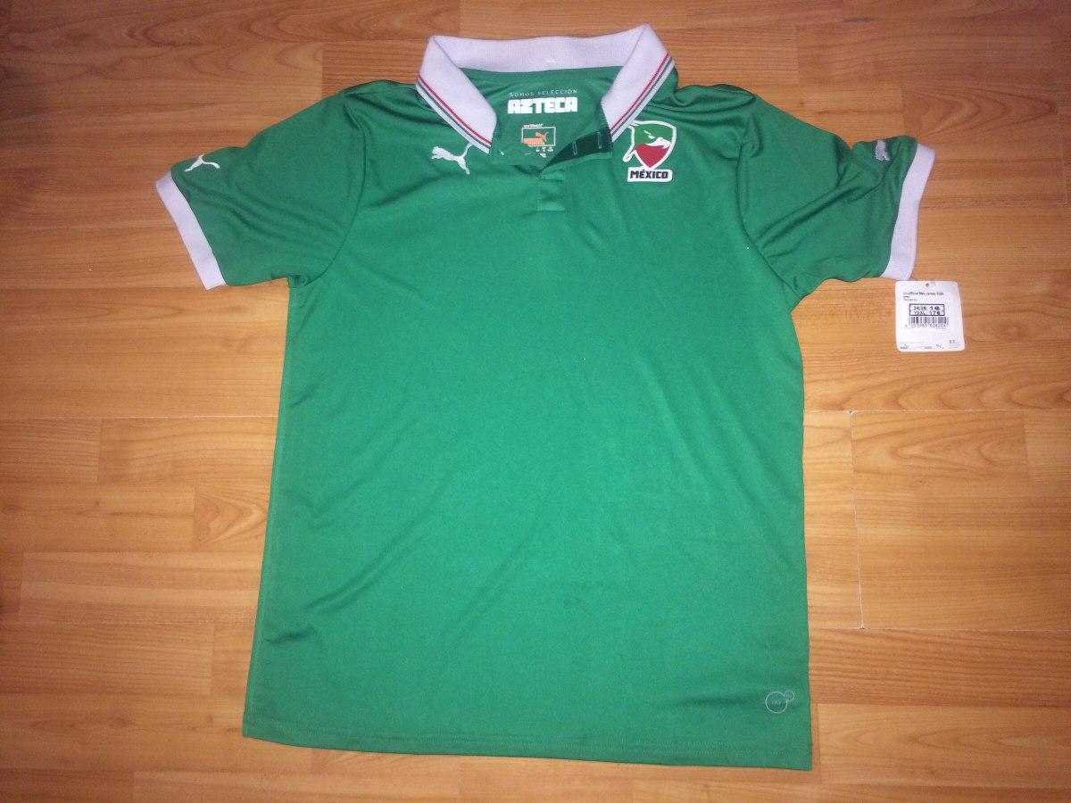 e32b3bc98352a Playera Tipo Polo Original Puma Selección México -   400.00 en ...