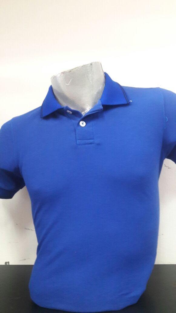 Playera Tipo Polo Para Caballero En Color Azul -   399.00 en Mercado ... 83d4b4f145fd9