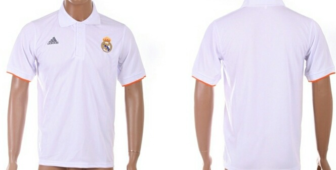 c8a3bb16ef868 Playera Tipo Polo Real Madrid Blanca -   850.00 en Mercado Libre