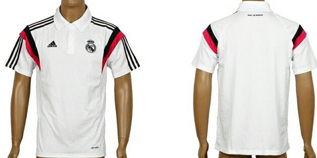 01b7d691c1666 Playera Tipo Polo Real Madrid Blanca Negro Y Rosa -   850.00 en ...
