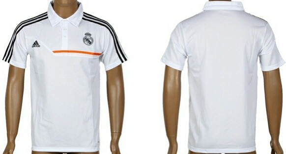 Playera Tipo Polo Real Madrid Blanco -   850.00 en Mercado Libre 32d5aeb1e211c