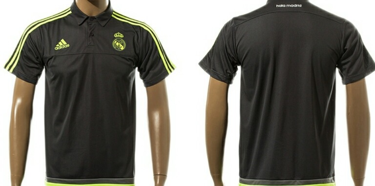 Playera Tipo Polo Real Madrid Negra -   850.00 en Mercado Libre 09a43196de7ff