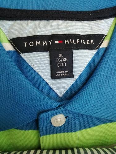 playera tommy hilfiger--talla 20- hombre