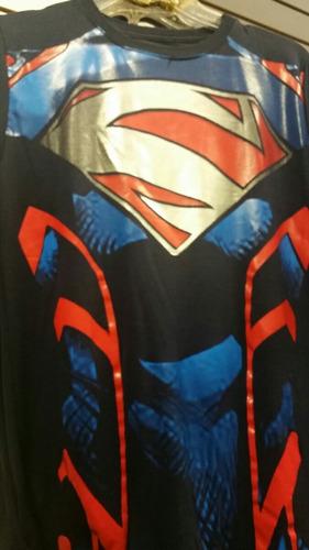 playera torso superman licra super heroe