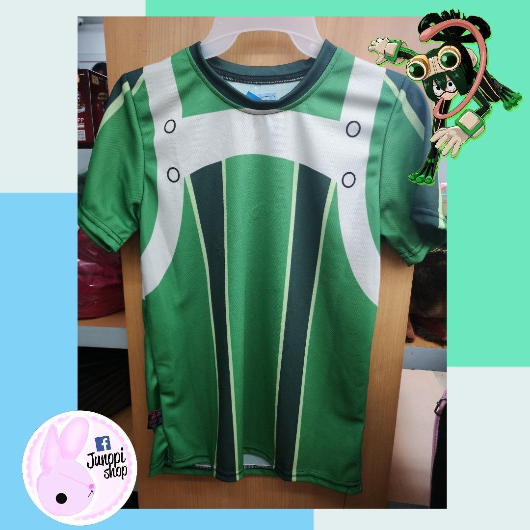 30201ee7b Playera Tsuyu My Hero Academia Dryfit -   499.00 en Mercado Libre