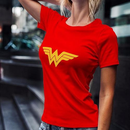 playera wonder woman mujer maravilla comics personalizada