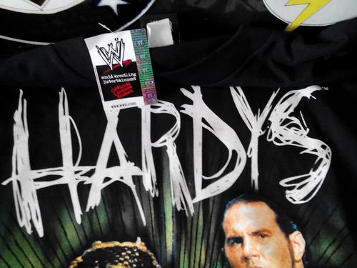 Playera Xl Wwe Jeff Y Matt Hardy Brothers Original Logo 3d ...  Wwe