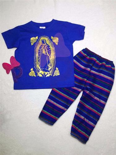 playera y pantalon virgen de guadalupe