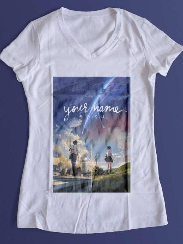Playera Your Name Netflix