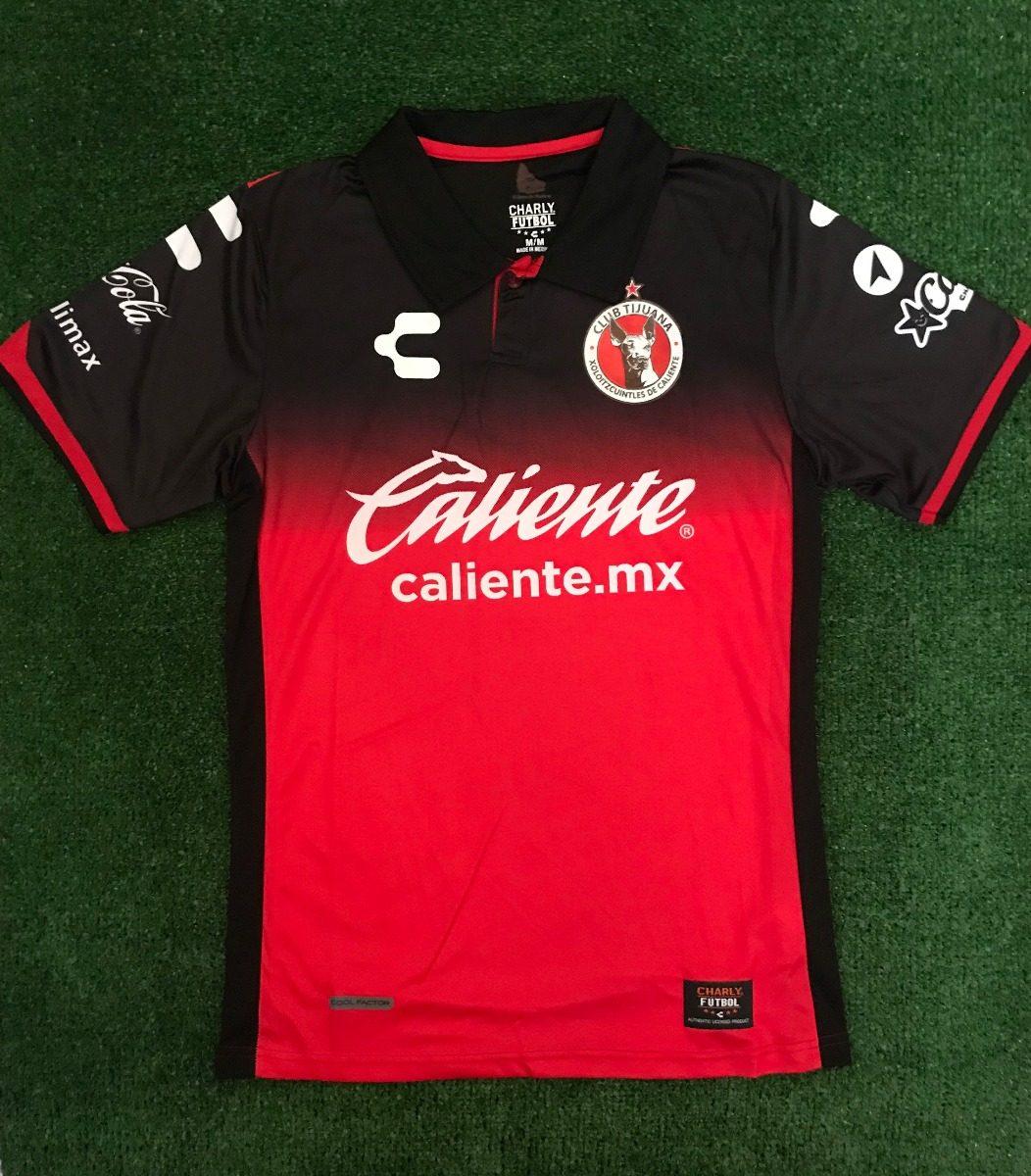 Playera jersey - Xolos De Tijuana 17 18 (local) -   450.00 en ... 2bbc26d70e900