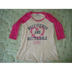 140ce2136f8 Camiseta Pink Victoria Secret Talla M Seminueva Mla¡¡¡¡¡