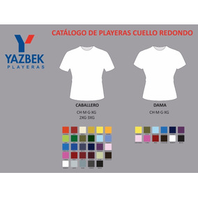 0802680ff0bb7 Playera Yazbek Color Precio Mayoreo - Playeras Yazbek Manga Corta de ...