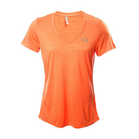 49485c9aed606 Under Armour Playera Tech Tiger Para Dama Cuello V-- Ligera