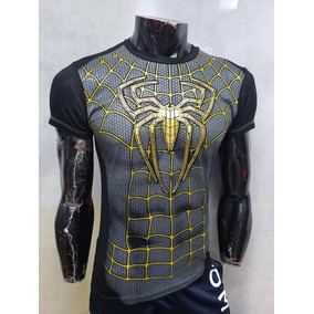 4ab940de6 Playera Spider Man Golden Avengers End Game Niño   Adulto