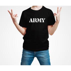 e25171663186d Playera Army Ejercito Militar Niño 1 Pza Envio Gratis