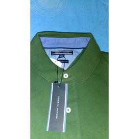 5d93328afb1a7 Camisa Playera Tipo Polo Tommy Hilfiger Color Morado Flr - Playeras ...