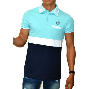 a002fc044fee9 Playera Tipo Polo Eandv Fashion Envio Gratis