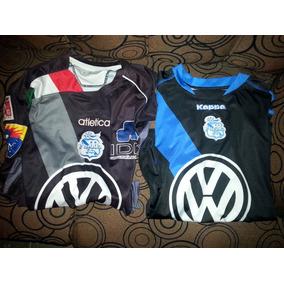 5dd096aaeb412 Lote Playeras Jerseys Puebla De La Franja Talla S
