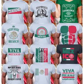 857e111b936c3 Playeras Viva Mexico - Playeras Manga Corta en Mercado Libre México