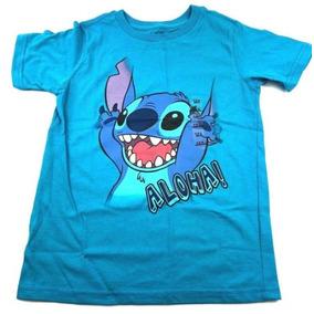 eea693443b359 Camiseta Stitch 7-8 Disney Store Original !