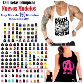 a435cb701a88f Playeras De Tirantes Gym Olimpicas Hombre - Ropa