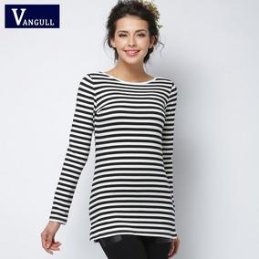 bb70c5a401 Vangull 2018 Nueva Moda T-shirt Mujeres Ropa Sexy Tops Blusa