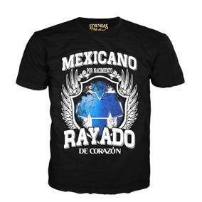 9240ba0afb413 Playeras 100 Poliester Monterrey en Mercado Libre México